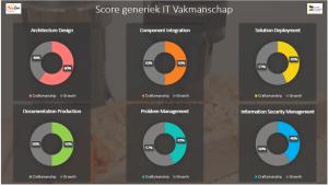 Voorbeeld van score generieke IT Vakmanschappen